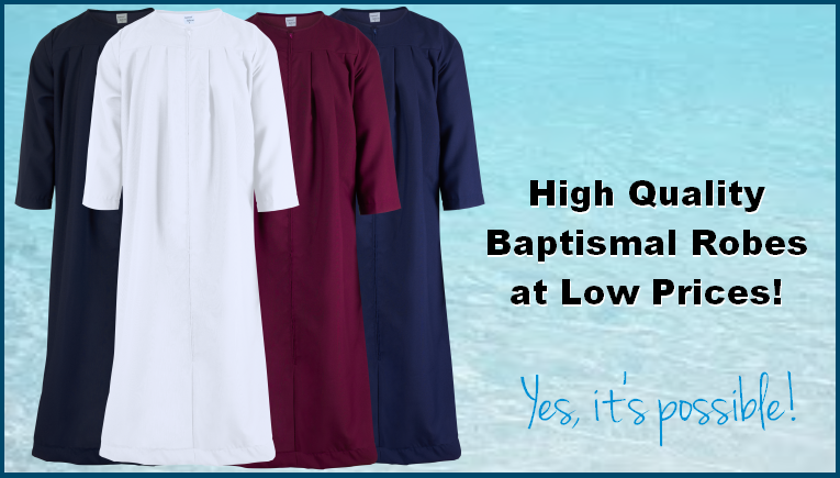High Quality Baptismal Robes