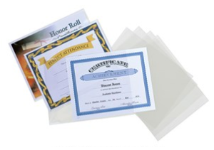 Baptismal Certificates Protective Sleeves