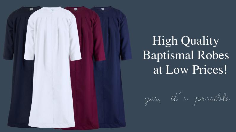 High Quality Baptismal Robes